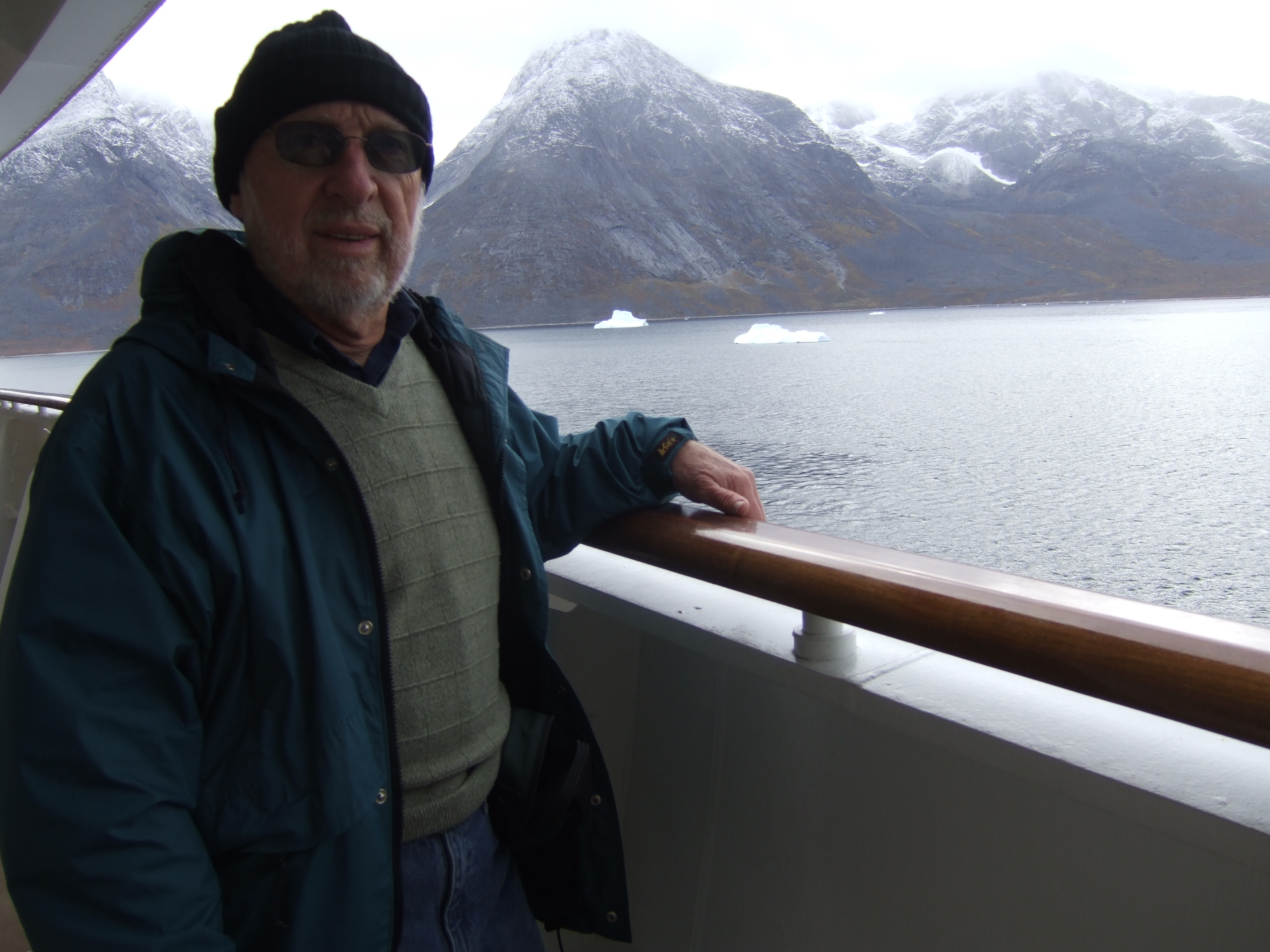 Northern Atlantic cruise off the coast of Greenland